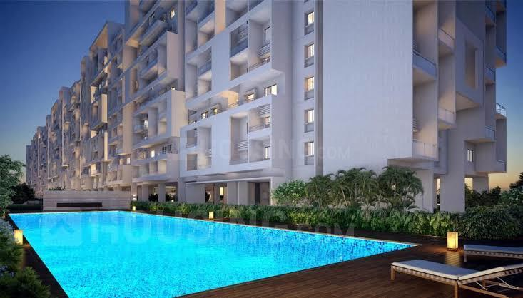 Swimming Pool Image of 837 Sq.ft 2 BHK Apartment for buy in Hinjewadi for 5181000