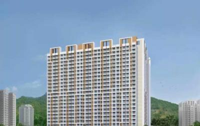 Gallery Cover Image of 550 Sq.ft 2 BHK Apartment for buy in PNK Space Tiara Hills Phase I Bldg No 3 5 And 2, Mira Road East for 6800000