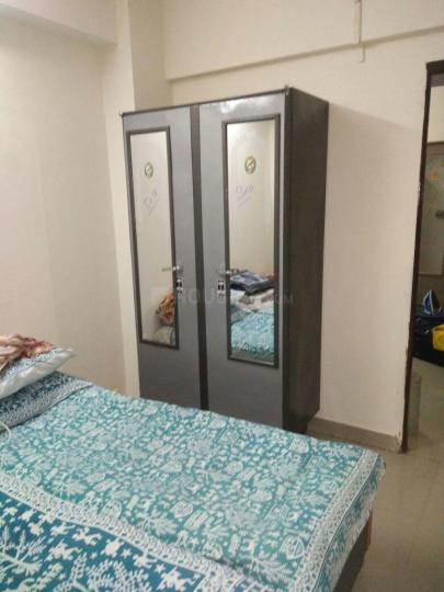 Bedroom Image of 600 Sq.ft 2 BHK Independent Floor for rent in Airoli for 12500