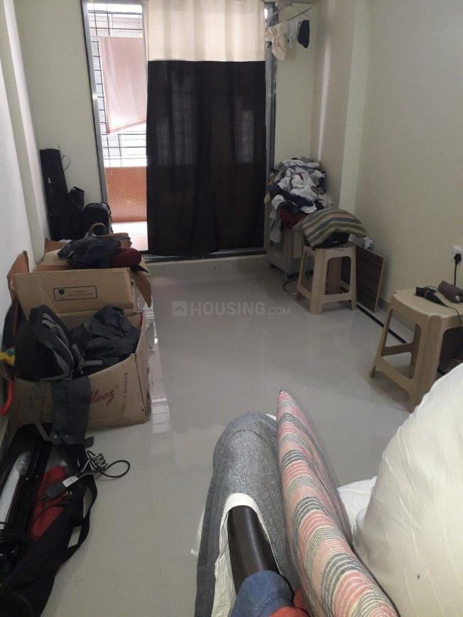 Living Room Image of 350 Sq.ft 1 BHK Apartment for rent in Andheri East for 17000