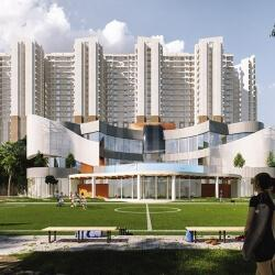 Gallery Cover Image of 660 Sq.ft 1 BHK Apartment for buy in Shilphata for 3650000