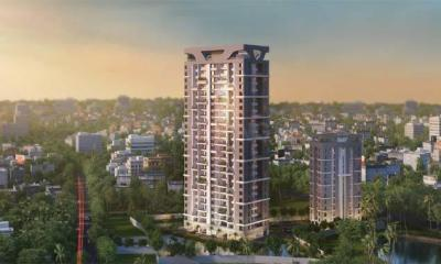 Gallery Cover Image of 1700 Sq.ft 4 BHK Apartment for buy in Kasba for 13600000