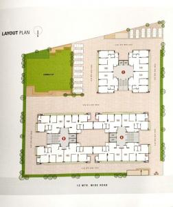 Gallery Cover Image of 1350 Sq.ft 2 BHK Apartment for buy in  Motera CHS, Motera for 5300000