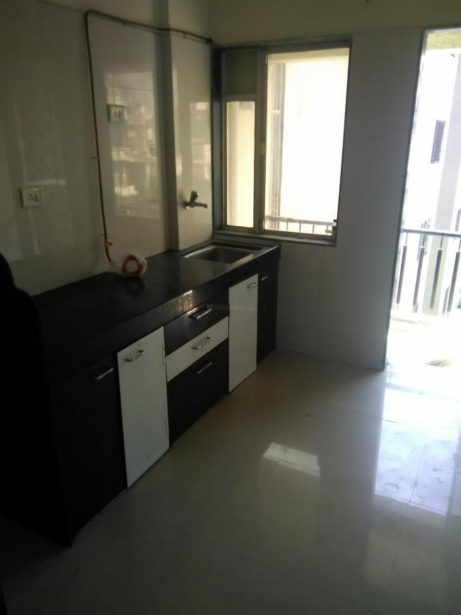 Kitchen Image of 595 Sq.ft 1 BHK Apartment for rent in Mira Road East for 11000