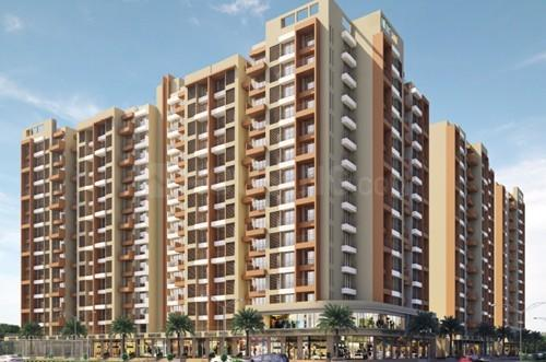 Building Image of 420 Sq.ft 1 BHK Apartment for rent in Mira Road East for 14000