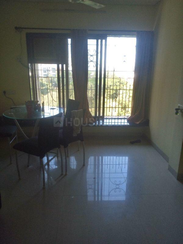 Living Room Image of 600 Sq.ft 1 BHK Apartment for rent in Andheri West for 39000