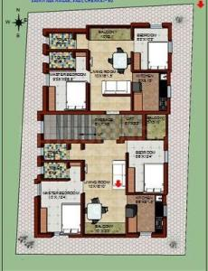 Gallery Cover Image of 759 Sq.ft 2 BHK Apartment for buy in Padi for 6500000