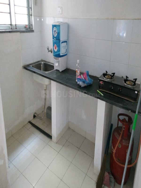 Kitchen Image of 480 Sq.ft 2 BHK Apartment for rent in New Town for 10000