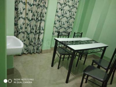 Gallery Cover Image of 650 Sq.ft 1 BHK Apartment for rent in Baghajatin for 10000