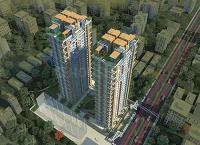 Gallery Cover Image of 1432 Sq.ft 3 BHK Apartment for buy in Thane West for 19100000