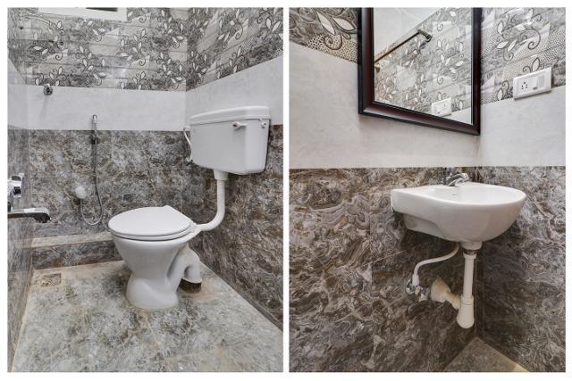 Bathroom Image of Oyo Life Chn1136 Tidel Park in Thiruvanmiyur