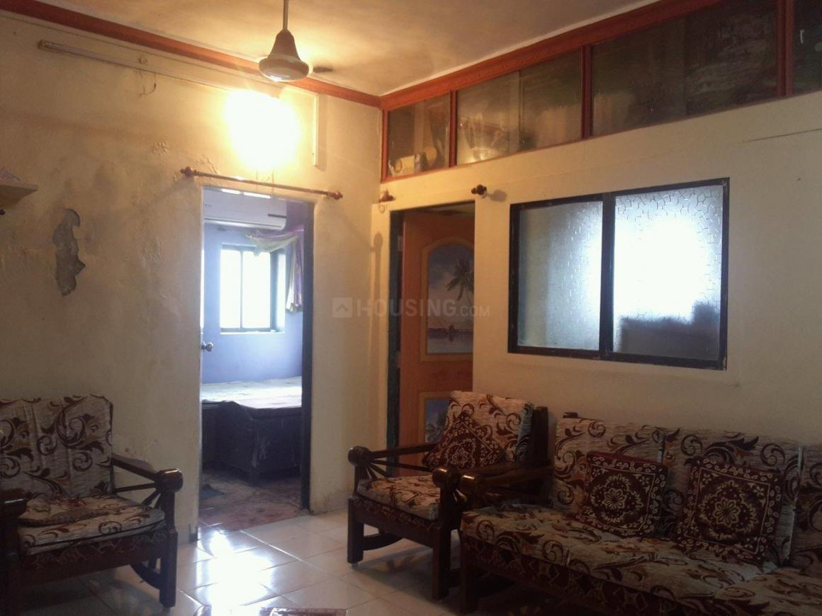 Living Room Image of 450 Sq.ft 1 BHK Apartment for rent in Vashi for 16000