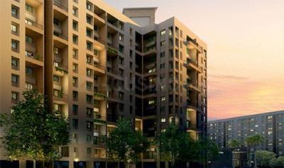 Gallery Cover Image of 966 Sq.ft 2 BHK Apartment for buy in Goel Ganga Ganga Amber II, Tathawade for 5600000
