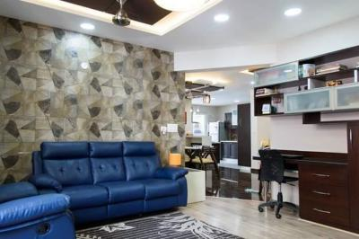 Gallery Cover Image of 1400 Sq.ft 3 BHK Apartment for rent in Kaveri Nagar for 35000