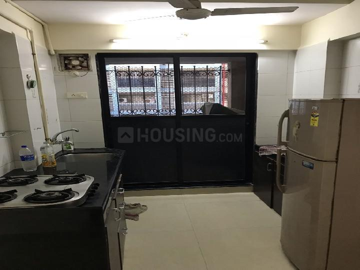 Kitchen Image of 450 Sq.ft 1 BHK Apartment for rent in Bandra East for 38000
