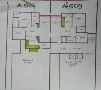 Gallery Cover Image of 1278 Sq.ft 2 BHK Apartment for buy in Abhilekh Sthapatya Elegance  , GIDC Naroda for 5500000