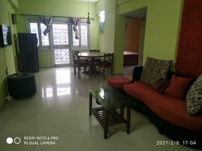 Gallery Cover Image of 1300 Sq.ft 3 BHK Apartment for rent in NBCC Vibgyor Towers, New Town for 26000