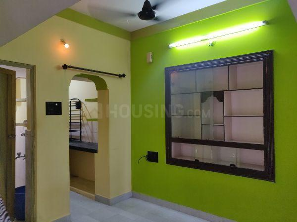 Living Room Image of 500 Sq.ft 1 BHK Independent Floor for rent in Koramangala for 12000