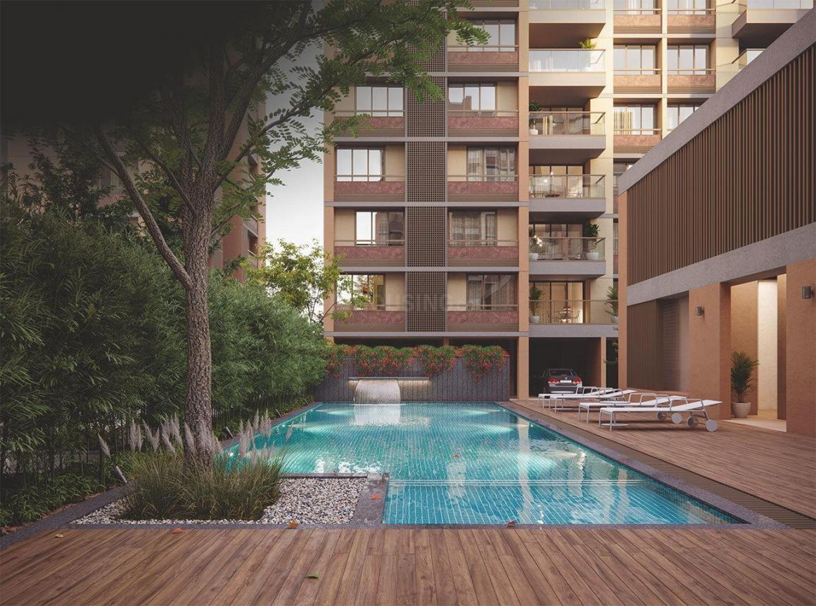 Swimming Pool Image of 2230 Sq.ft 3 BHK Apartment for buy in Vastrapur for 12000000