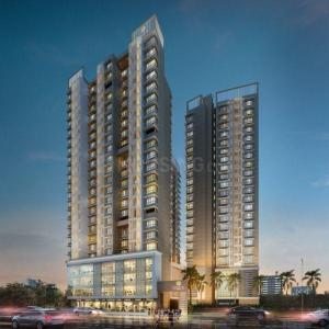 Gallery Cover Image of 694 Sq.ft 1 BHK Apartment for buy in Blumen, Vikhroli West for 10500000