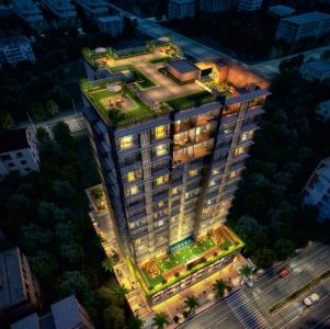 Gallery Cover Image of 1195 Sq.ft 3 BHK Apartment for buy in Paradigm Nivan, Khar West for 60500000