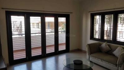 Living Room Image of 1750 Sq.ft 3 BHK Independent Floor for rent in Shanti Nagar for 52000