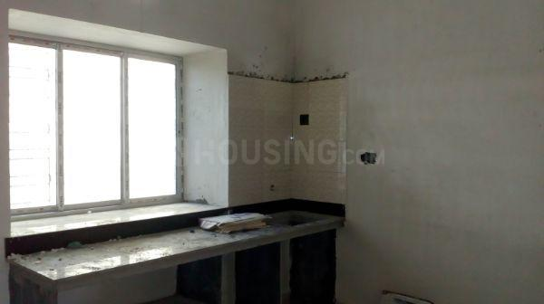 Kitchen Image of 419 Sq.ft 1 RK Apartment for buy in Baghajatin for 1800000