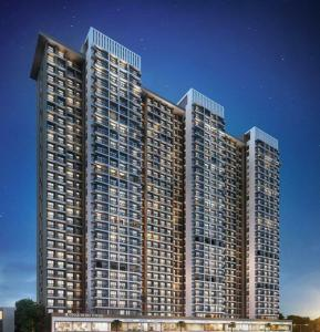 Gallery Cover Image of 650 Sq.ft 1 BHK Apartment for buy in Ashar Metro Towers, Thane West for 7900000