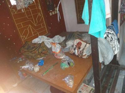 पीजी 4272316 जड़ावपुर इन जड़ावपुर के बेडरूम की तस्वीर