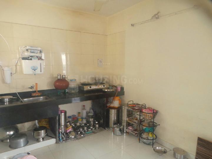 Kitchen Image of 1000 Sq.ft 2 BHK Apartment for rent in Narhe for 11000