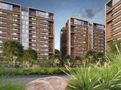 Gallery Cover Image of 3005 Sq.ft 4 BHK Apartment for buy in Shrinivas Luxuria, Bhadaj for 11400000