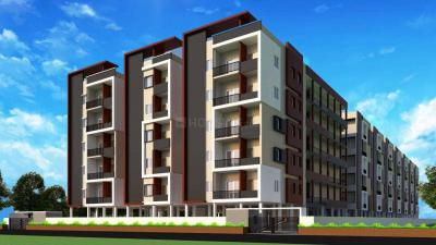 Gallery Cover Image of 775 Sq.ft 1 BHK Apartment for buy in Kompally for 2325000