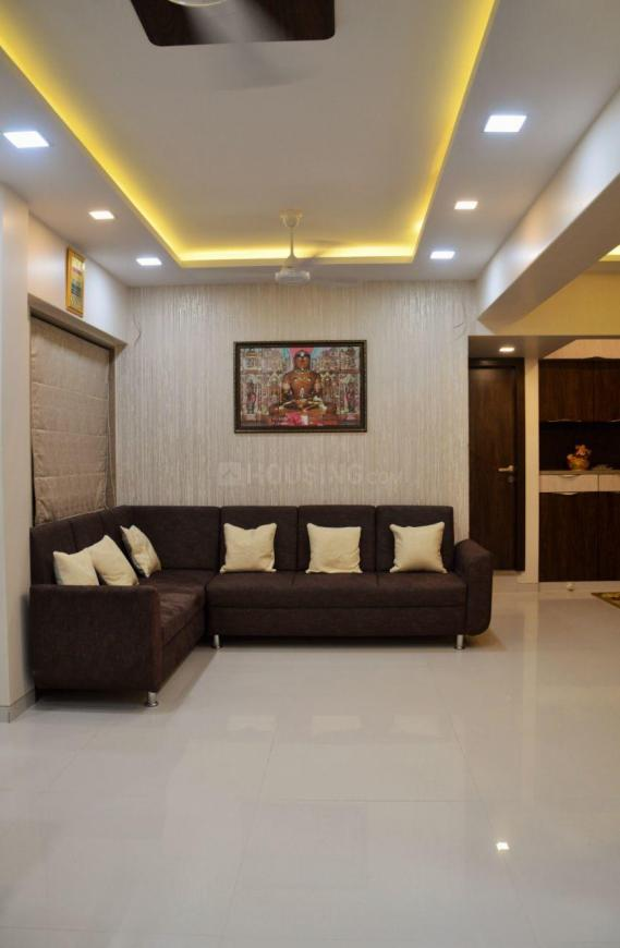 Living Room Image of 1700 Sq.ft 3 BHK Apartment for rent in Vashi for 65000