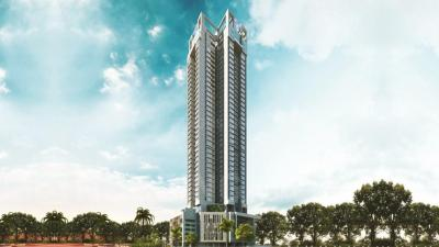 Gallery Cover Image of 1230 Sq.ft 3 BHK Apartment for buy in F Residences, Malad East for 24500000