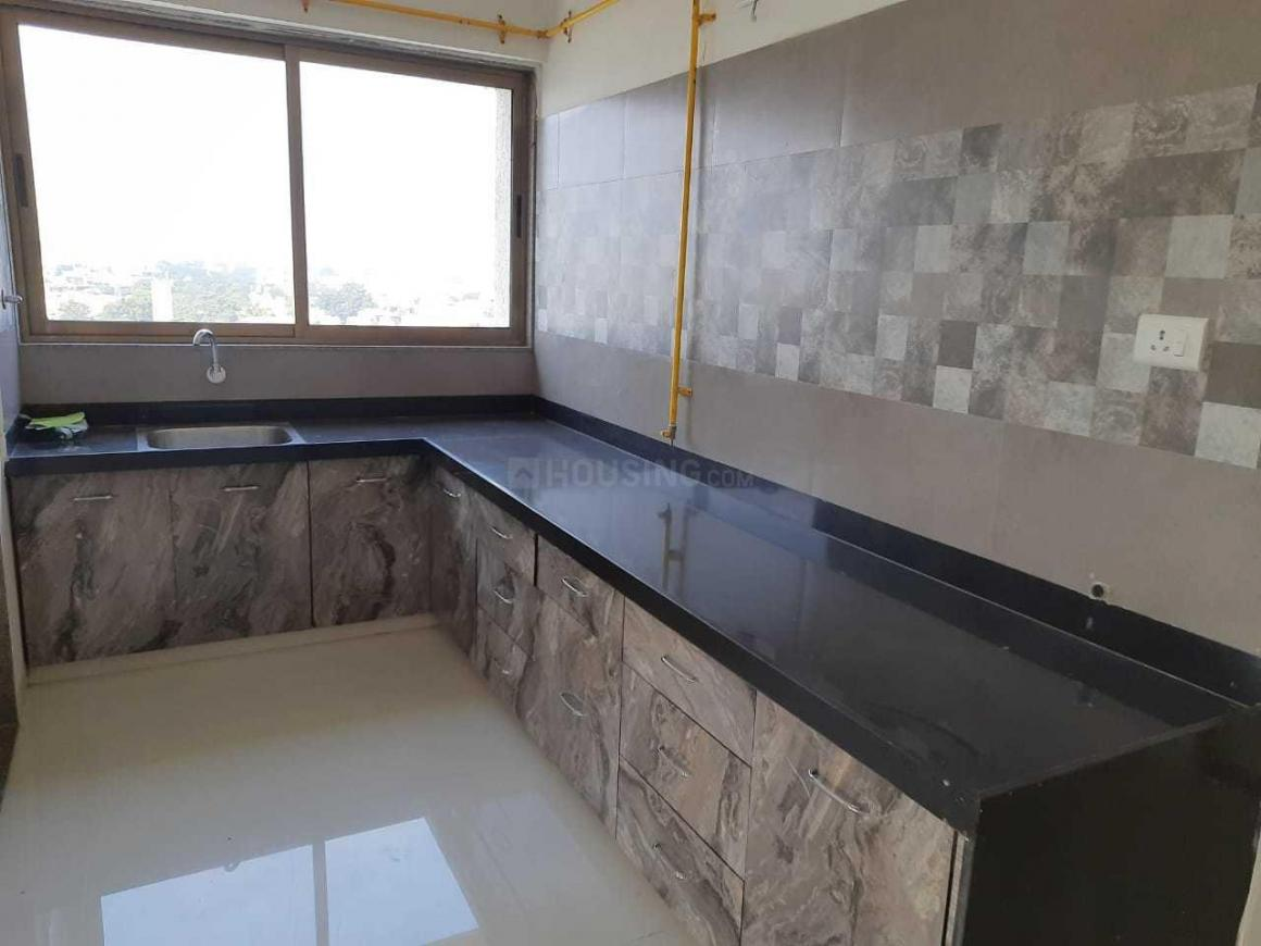 Kitchen Image of 1800 Sq.ft 3 BHK Apartment for rent in Thaltej for 32000