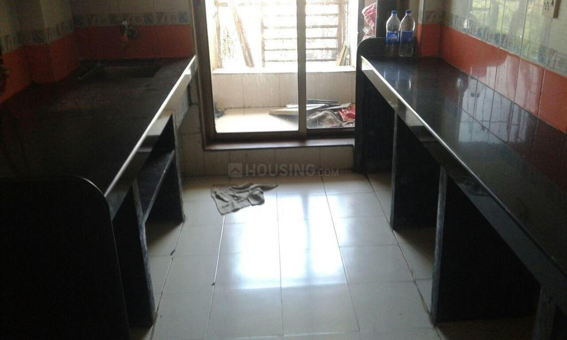 Kitchen Image of 590 Sq.ft 1 BHK Apartment for rent in Bhandup West for 25000
