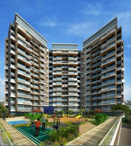 Gallery Cover Image of 650 Sq.ft 1 BHK Apartment for buy in Tricity Luxuria, Greater Khanda for 5800000