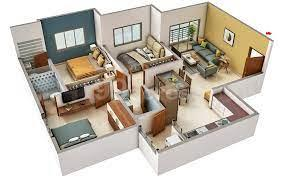 Gallery Cover Image of 1550 Sq.ft 3 BHK Apartment for buy in Swastik Riviera, Vaishno Devi Circle for 5500000