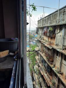 Balcony Image of PG For Girls in Khar Danda