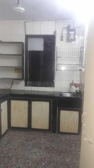 Kitchen Image of 580 Sq.ft 1 BHK Apartment for rent in Thane West for 17000