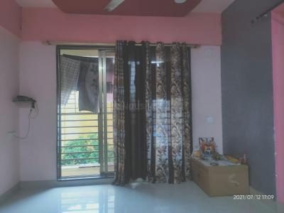 Gallery Cover Image of 690 Sq.ft 1 BHK Apartment for rent in Rajaram Sukur Enclave, Kasarvadavali, Thane West for 16000