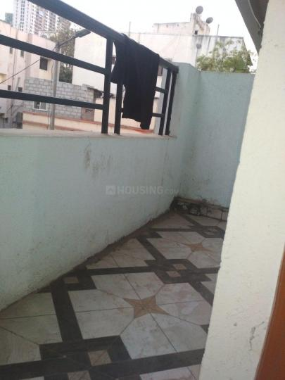 Balcony Image of 564 Sq.ft 1 RK Apartment for rent in Kharadi for 11000