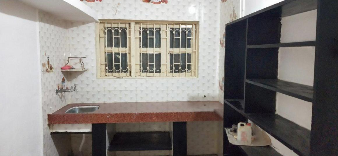 Kitchen Image of 450 Sq.ft 1 RK Apartment for rent in Dombivli East for 9000