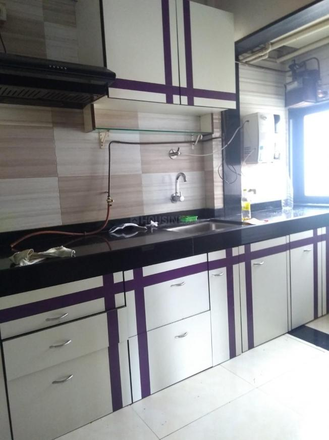 Kitchen Image of 650 Sq.ft 1 BHK Apartment for rent in Borivali East for 20000