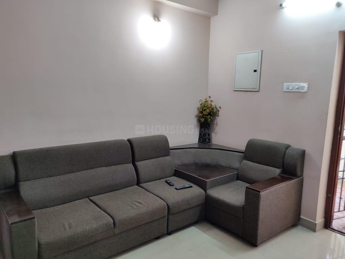 Living Room Image of 1200 Sq.ft 3 BHK Apartment for rent in Pattabiram for 18000