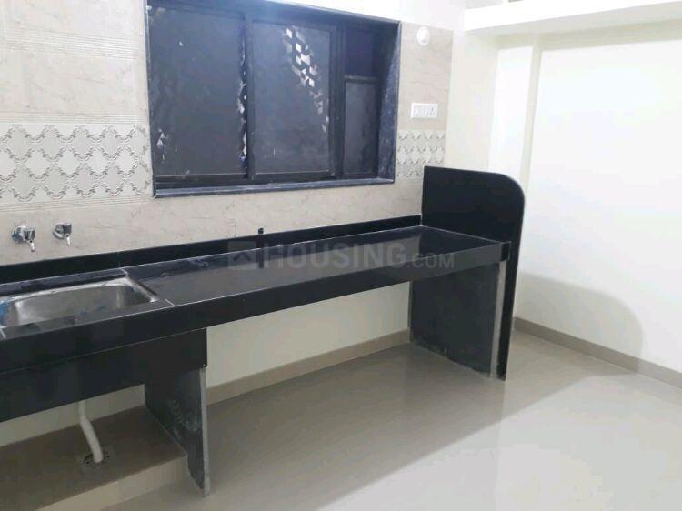Kitchen Image of 500 Sq.ft 1 BHK Independent House for rent in Karve Nagar for 13000