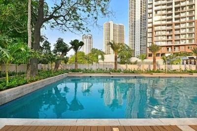 Swimming Pool Image of India Bulls Green in Kon