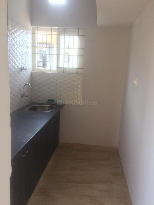 Kitchen Image of 1200 Sq.ft 1 BHK Independent Floor for rent in HSR Layout for 16000