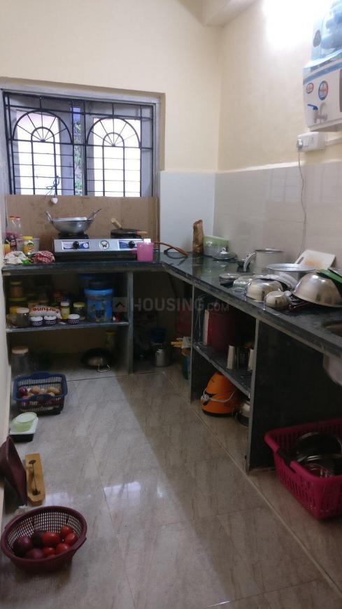 Kitchen Image of 900 Sq.ft 1 BHK Independent Floor for rent in Vashi for 23000