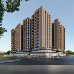 Gallery Cover Image of 850 Sq.ft 3 BHK Apartment for buy in Kavisha Amara, Shela for 5800000